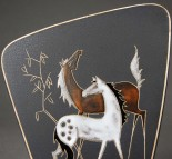 Ruscha, Wandtafel Cavallo