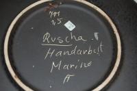 Ruscha, Wandteller Marino