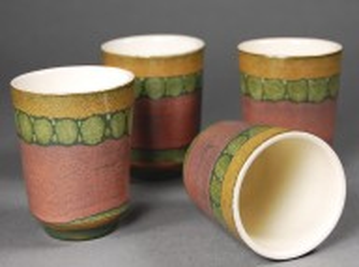 ∆upfermühle; juice-cups, set of 4