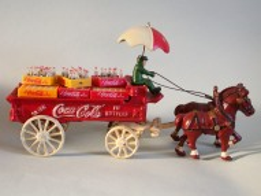 Werbeobjekt Coca-Cola