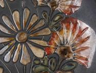 Ruscha, Wandteller Feldblumen