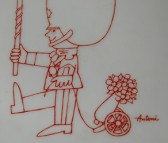 Bing & Grondahl, Wandteller