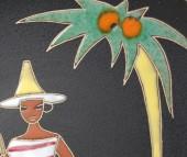 Ruscha, Wandtafel Kuba