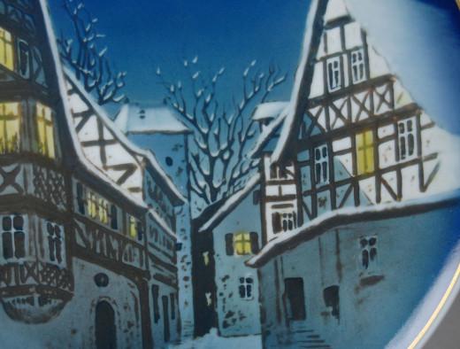 Rosenthal, Weihnachtsteller 1960