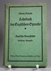 Lehrbuch der Englischen Sprache