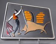 AWF, Wandplatte Torero