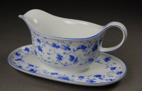 Arzberg, tableware 1382, gravy boat with att. underplate