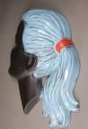 Wandmaske Mädchenkopf, unbekannt