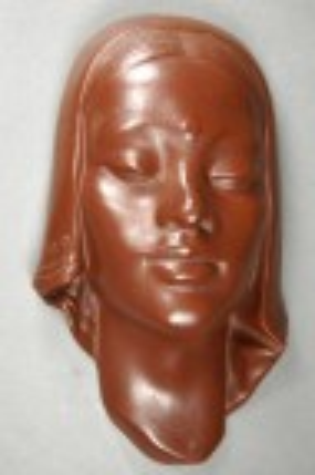 wallmask girls head, unknown