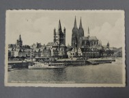Köln am Rhein, Postkarte 1941,