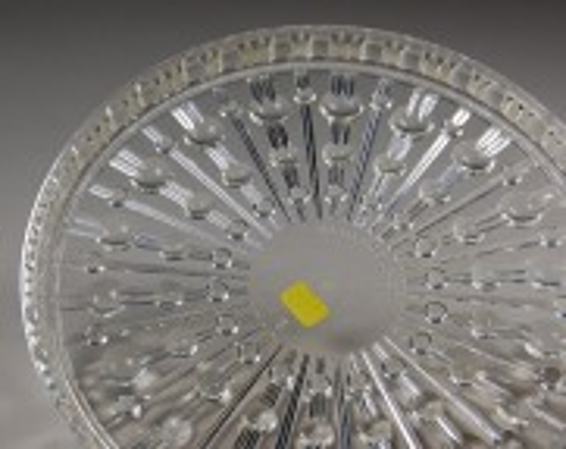 VEB Presswerk Ottendorf-Okrilla; Untersetzer Plastkristall, Set (6 Stück)