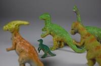 Saurier, Spielmodelle; Konvolut 5 Stück