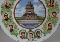 Bauscher, Wandteller Völkerschlachtdenkmal