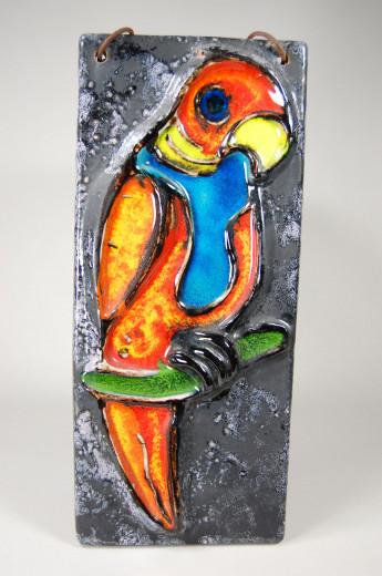 Carstens, wall tile Parrot