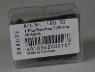 Brause & Co, Bandzugfeder Nr. 180; 5 mm; ca. 50 Exemplare
