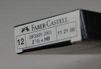 Faber-Castell, Bleistifte Dessin 2001 2 1/2 = HB