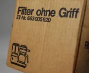 AEG, Filter ohne Griff - Ersatzteil für Kaffeemaschine KF 613 361 100