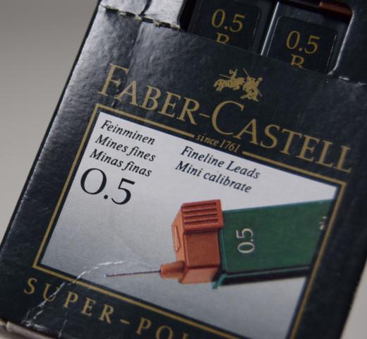 Faber-Castell, Super-Polymer Feinminen 9065 S-B; 0.5 mm