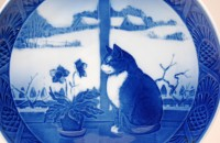 Royal Copenhagen, Wandteller