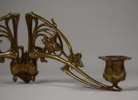 Pleyel, Kerzenhalter für Piano, zweifach