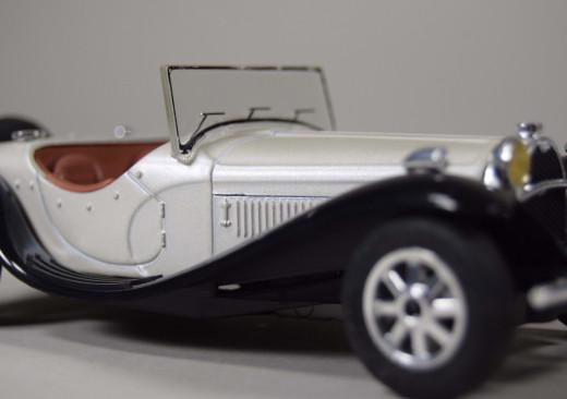 Majorette, Bugatti 55 de la Chapelle, Modell 1:24