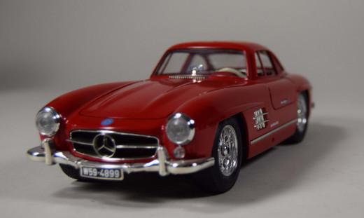 Bburago, Mercedes Benz 300SL, Modell 1:18