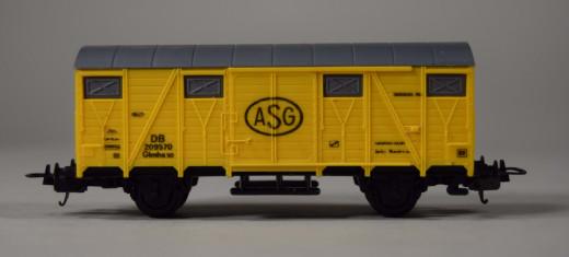 Lima, Güterwagen DB ASG