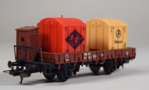 Lima, freight car FS Agfa, Mercedes