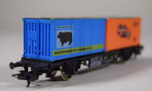Lima, Güterwagen DB LHB / Scotch Beef