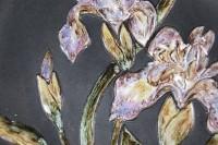 Ruscha, Wandteller Iris