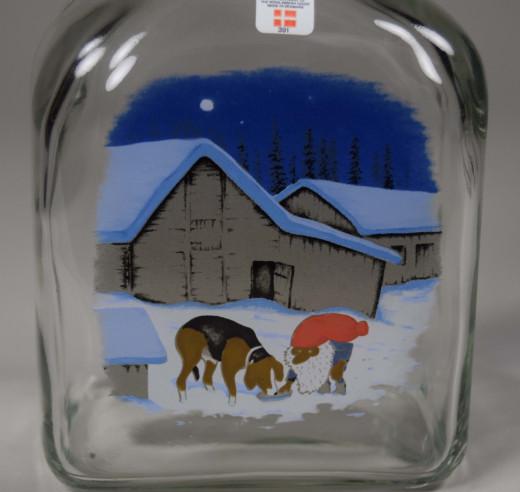 Holmegaard, Weihnachtsflasche