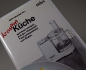 BRAUN; Aktionswochen: Kreative Küche - spielend einfach mit der Universal-Küchenmaschine von Braun