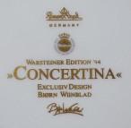 Rosenthal, Wandteller Concertina
