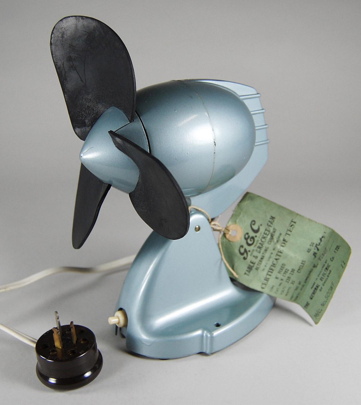 General Electric Ventilator V 1702 Design und Klassiker #536D78