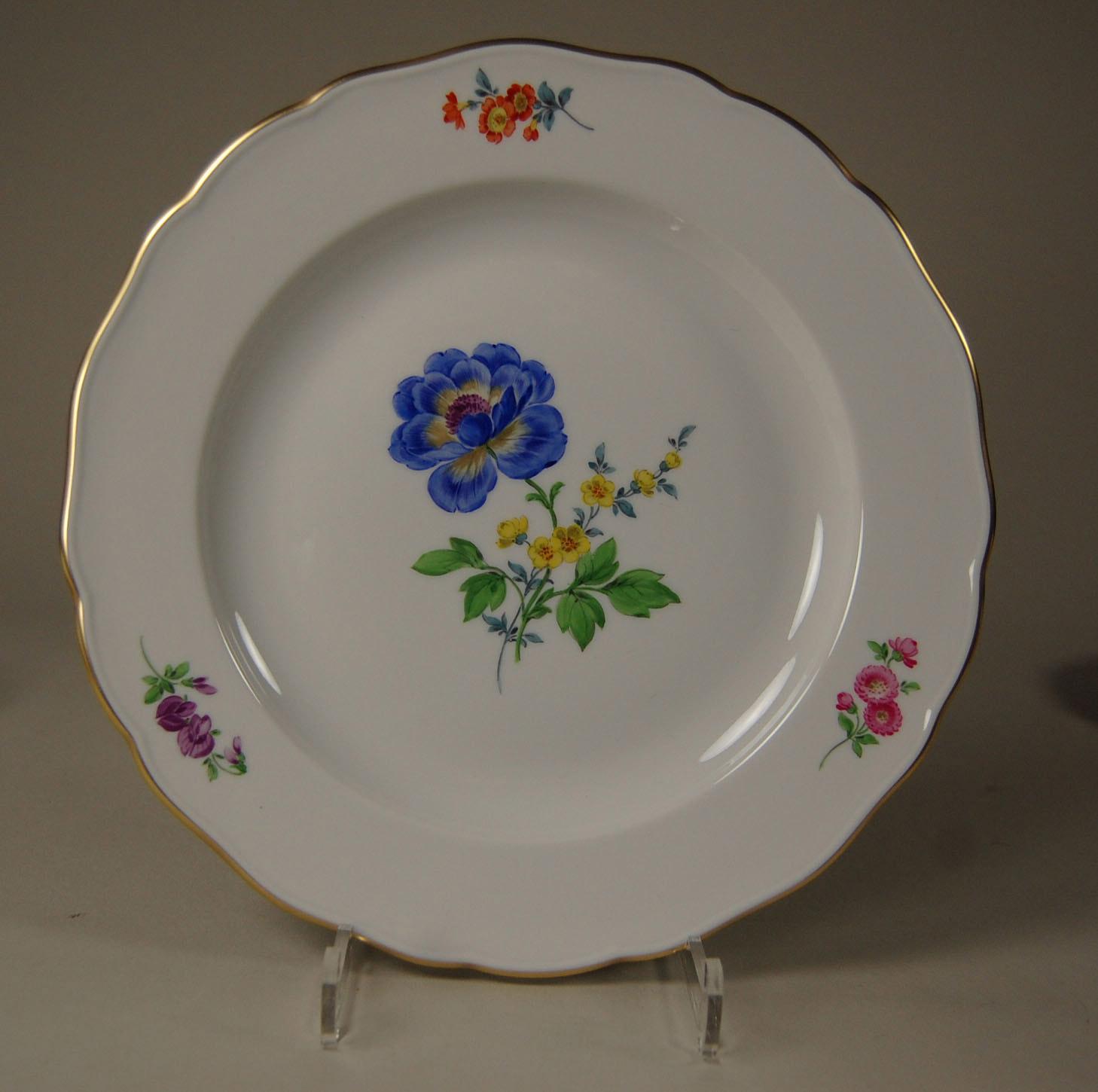 Meissen Keramik: Meissen, Teller